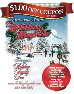 2012 holiday hayride flyer