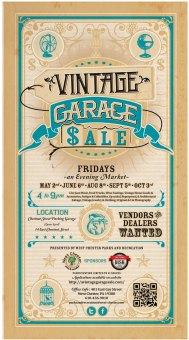 Vintage Garage Sale 2014